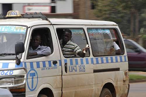 Commuter Taxi - Kampala